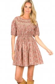 ba&sh |  Dress with drawstrings Iris | pink  | Picture 5