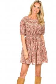 ba&sh |  Dress with drawstrings Iris | pink  | Picture 2