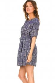 ba&sh |  Dress with drawstrings Iris | blue  | Picture 5