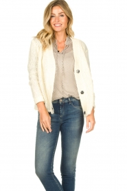 JC Sophie |  Soft knitted cardigan Ermine | natural  | Picture 2