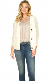 JC Sophie |  Soft knitted cardigan Ermine | natural  | Picture 4