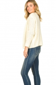 JC Sophie |  Soft knitted cardigan Ermine | natural  | Picture 5