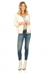 JC Sophie |  Soft knitted cardigan Ermine | natural  | Picture 3