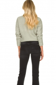 JC Sophie |  Sweater with knot detail Esra | green  | Picture 7