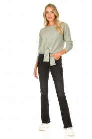 JC Sophie |  Sweater with knot detail Esra | green  | Picture 3