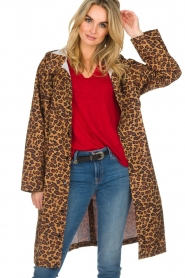 Becksöndergaard |  Rain coat with leopard print Magpie | animal print  | Picture 2