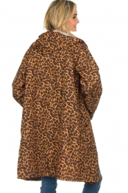 Becksöndergaard |  Rain coat with leopard print Magpie | animal print  | Picture 5