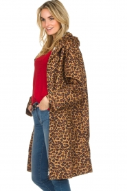 Becksöndergaard |  Rain coat with leopard print Magpie | animal print  | Picture 4