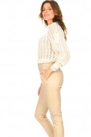 ba&sh |  Crochet sweater Aste | ecru  | Picture 4