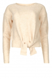 JC Sophie |  Sweater with knot detail Esra | natural  | Picture 1