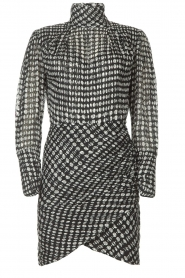 ba&sh |  Dress with dots Brydie | black  | Picture 1