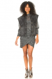 ba&sh |  Dress with dots Brydie | black  | Picture 3