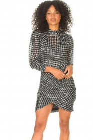 ba&sh |  Dress with dots Brydie | black  | Picture 2
