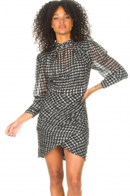 ba&sh |  Dress with dots Brydie | black  | Picture 4