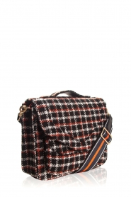 Becksöndergaard |  Shoulder bag with checks Mara | black  | Picture 4