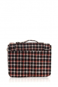 Becksöndergaard |  Shoulder bag with checks Mara | black  | Picture 5