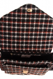 Becksöndergaard |  Shoulder bag with checks Mara | black  | Picture 6