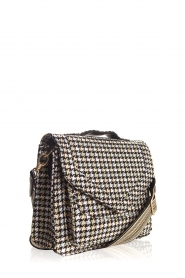 Becksöndergaard |  Shoulder bag with houndstooth print Mara | multi  | Picture 3