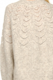 JC Sophie |  Sweater with open details Estrella | grey  | Picture 8
