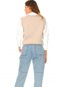 ba&sh |  Knitted spencer Pomme | beige  | Picture 7