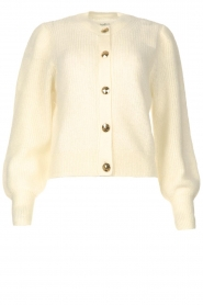 ba&sh |  Knitted cardigan Baylor | ecru  | Picture 1
