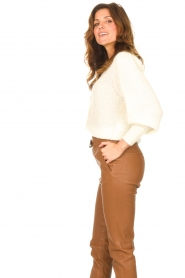 ba&sh |  Knitted cardigan Baylor | ecru  | Picture 5