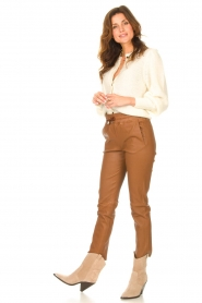 ba&sh |  Knitted cardigan Baylor | ecru  | Picture 3
