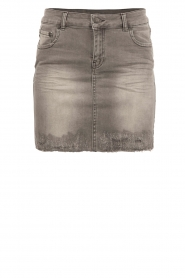 Denim minirok Brandi | grey