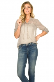 JC Sophie | Blouse with print Emmery | natural  | Picture 2