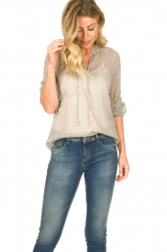 JC Sophie | Blouse with print Emmery | natural  | Picture 4