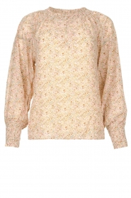 JC Sophie |  Printed blouse Enzo |pink  | Picture 1