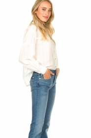 JC Sophie |  Cotton embroidery blouse Ecuador | white  | Picture 6