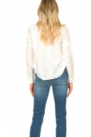 JC Sophie |  Cotton blouse Ecuador | white  | Picture 7