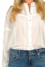 JC Sophie |  Cotton embroidery blouse Ecuador | white  | Picture 5