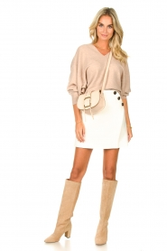 ba&sh |  Skirt with button details Kara | natural  | Picture 3