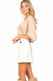 ba&sh |  Skirt with button details Kara | natural  | Picture 5