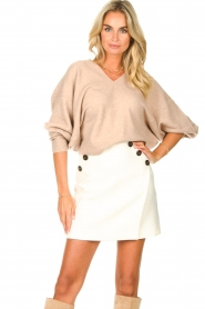 ba&sh |  Skirt with button details Kara | natural  | Picture 2
