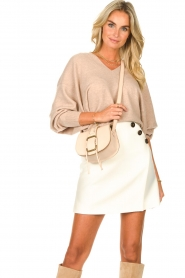 ba&sh |  Skirt with button details Kara | natural  | Picture 4