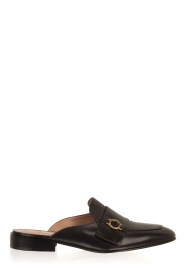 L'Autre Chose |  Slip on loafers Vina | Black  | Picture 1