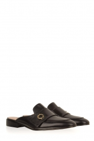 L'Autre Chose |  Slip on loafers Vina | Black  | Picture 3