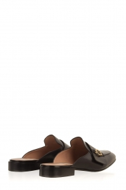 L'Autre Chose |  Slip on loafers Vina | Black  | Picture 4