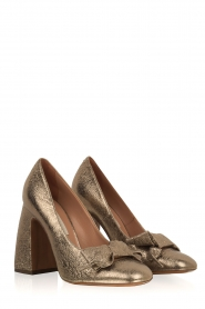 L'Autre Chose |  Metallic pumps Coco | gold  | Picture 3