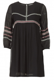 ba&sh |  Embroided dress Colombe | black  | Picture 1