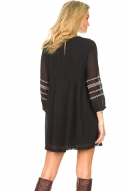 ba&sh |  Embroided dress Colombe | black  | Picture 7