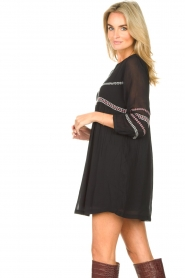 ba&sh |  Embroided dress Colombe | black  | Picture 6