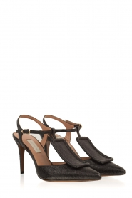 L'Autre Chose |  Pumps Pepa | Black  | Picture 3