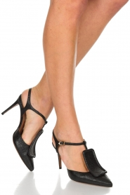 L'Autre Chose |  Pumps Pepa | Black  | Picture 2
