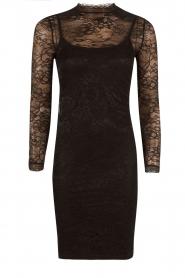 Rosemunde | Kanten jurk Demy | zwart  | Afbeelding 1