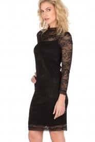 Rosemunde | Kanten jurk Demy | zwart  | Afbeelding 4