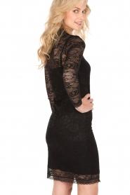 Rosemunde | Kanten jurk Demy | zwart  | Afbeelding 5
